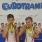 Złoto na Pucharze Świata grup wiekowych 11-12, Brescia Włochy